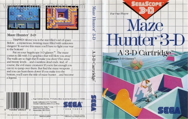[SMS]Maze_hunter_3d-cover
